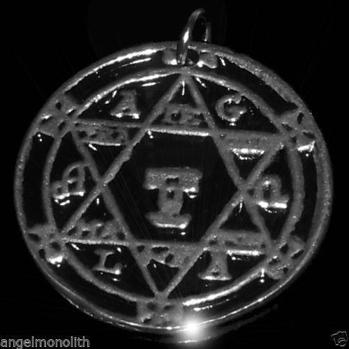 Salomons magisches Hexagramm Amulett Abwehr böse negative Einflüsse Perfektion