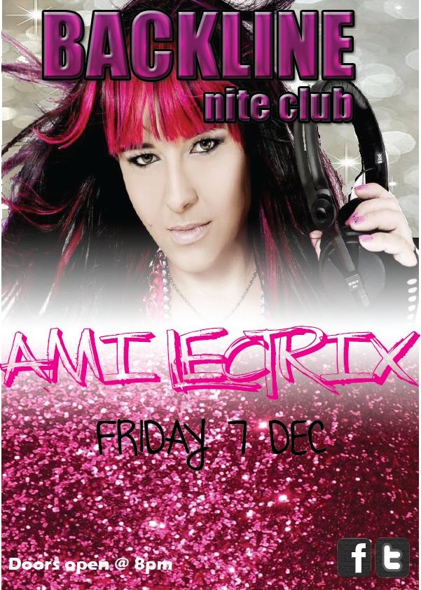 DJ Ami-Lectrix LIVE @ Backline Night Club Margate 8 Dec 2012