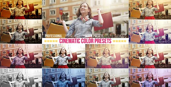 Cinematic Color Presets by giraysait | VideoHive