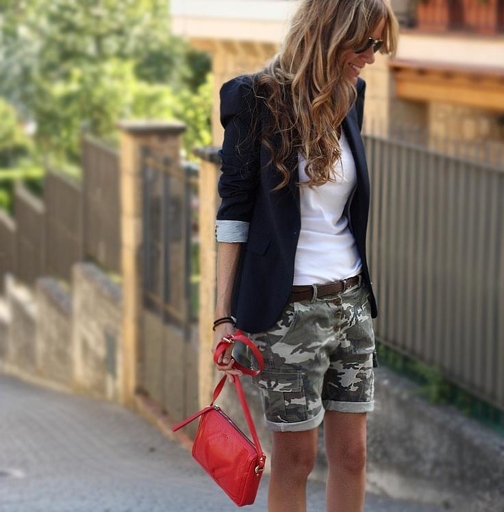 Shorts - Oppure, Blazer - Zara (old)