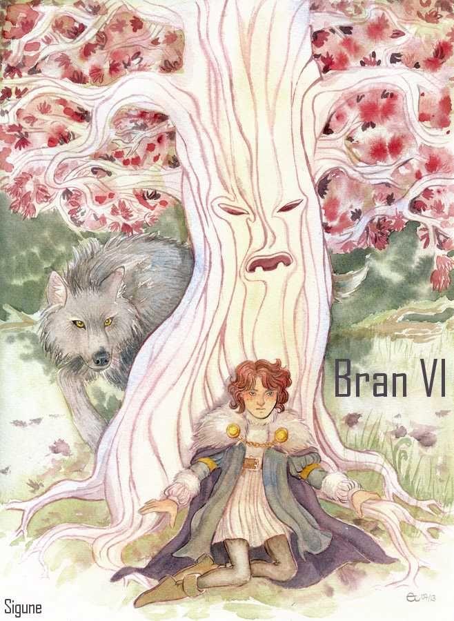 AGOT Bran VI banner - art by Sigune