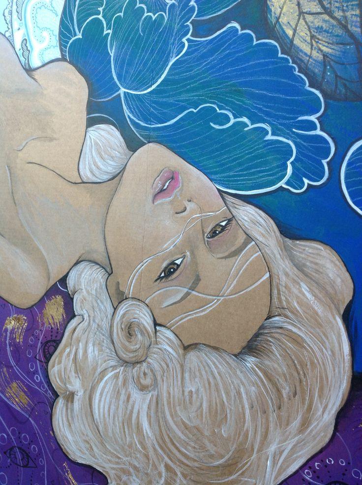 Ritratto dell'anima, particolare - Autore: Anna Agati