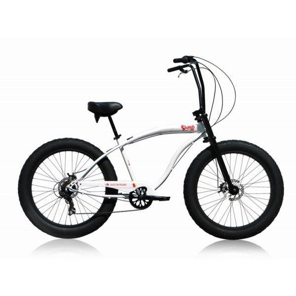 rower MICARGI SLUGO SS - biały - 7 biegów , custom fatbike FAT-BIKE - Powered by BST