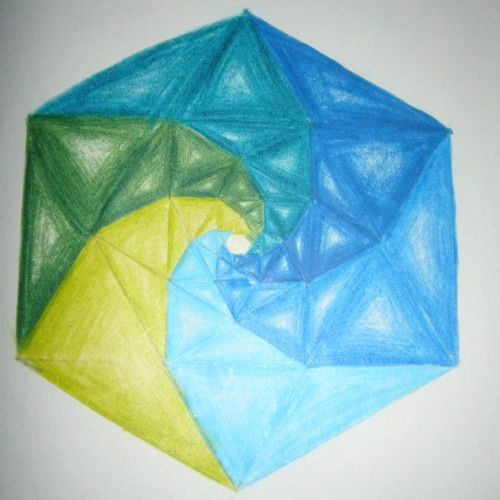 spirals - triangle