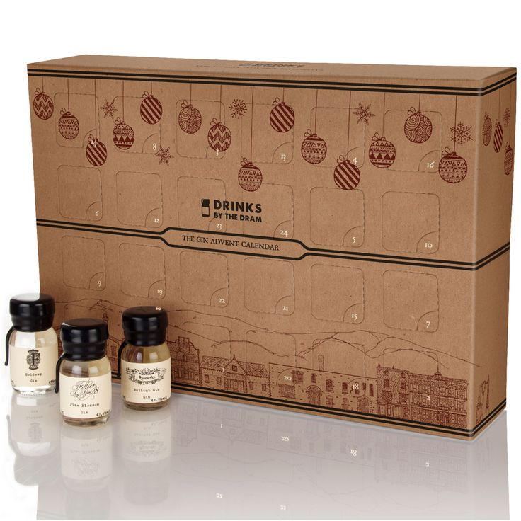 Drinks By The Dram The Gin Advent Calendar Whiskey Advent