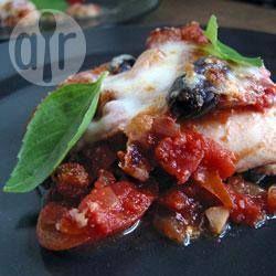 Caponata à l'aubergine parmigiana @ qc.allrecipes.ca