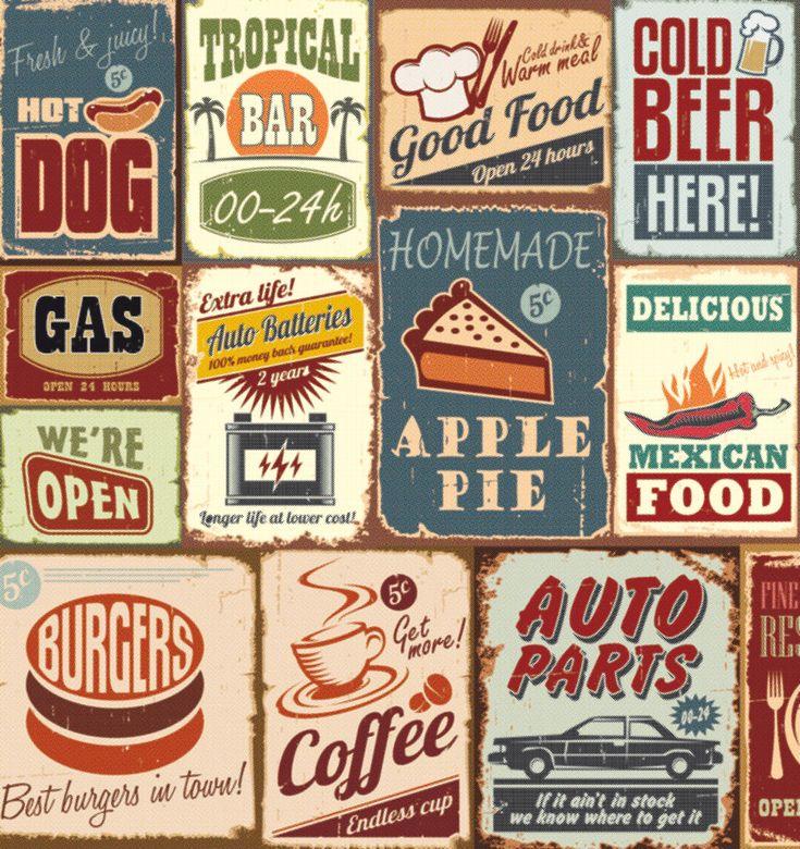 Vintage, Sticker Lave-vaisselle - Stickers Lave-vaisselle - Stickers électroménager