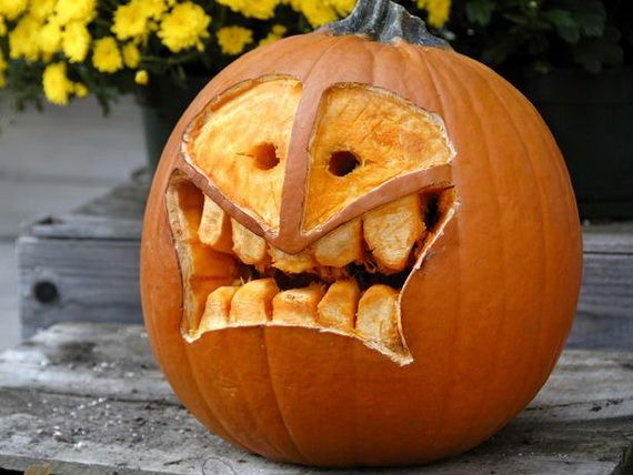 70 Cool Easy Pumpkin Carving Ideas For Wonderful Halloween Day Part 93