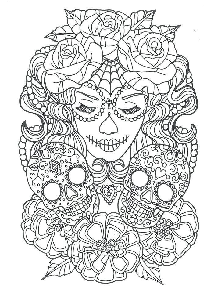 Halloween Skeleton Coloring Pages, Free Skeleton Printables ... | 960x679