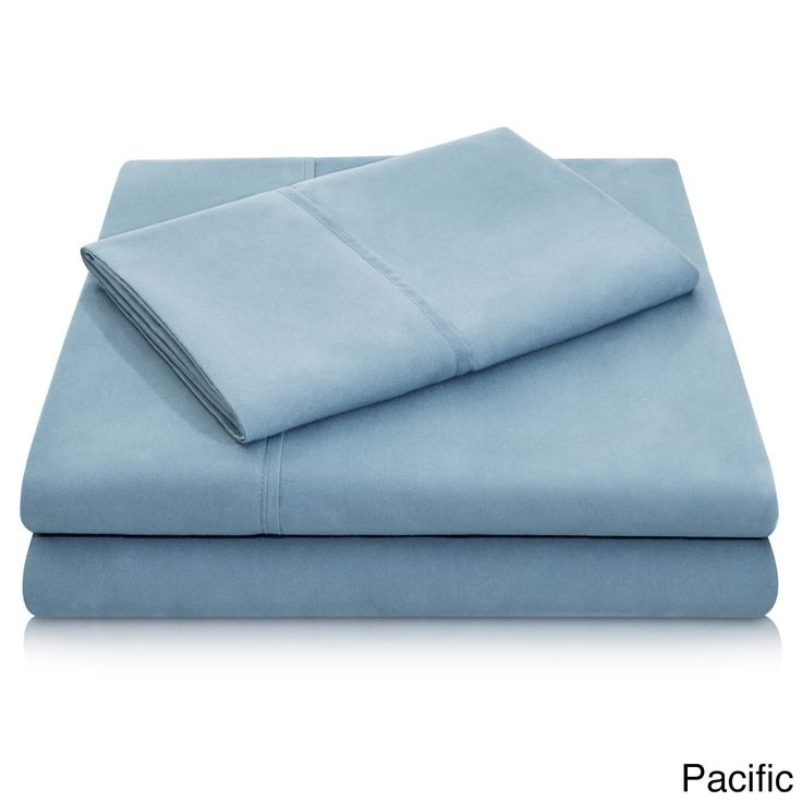 Malouf Wrinkle-Resistant Deep Pocket Double Brushed Bed Sheet Set