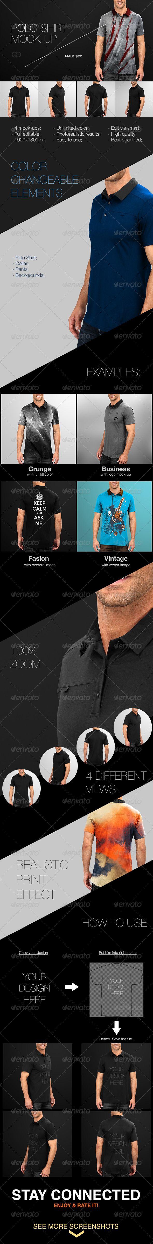 Shirt design photoshop template - Mens Polo Shirt Mock Up Men S Polo Shirtsmockupshirt Designsphotoshoptemplatesdownload
