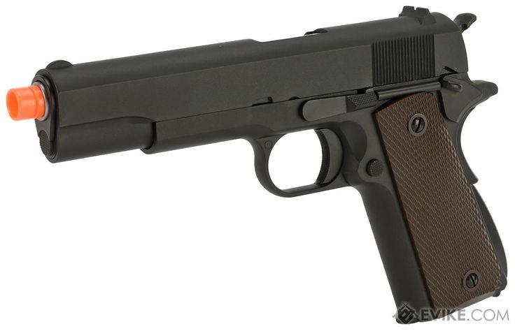 WE-USA NG3 Full Metal 1911 GI Full Size Airsoft GBB Pistol
