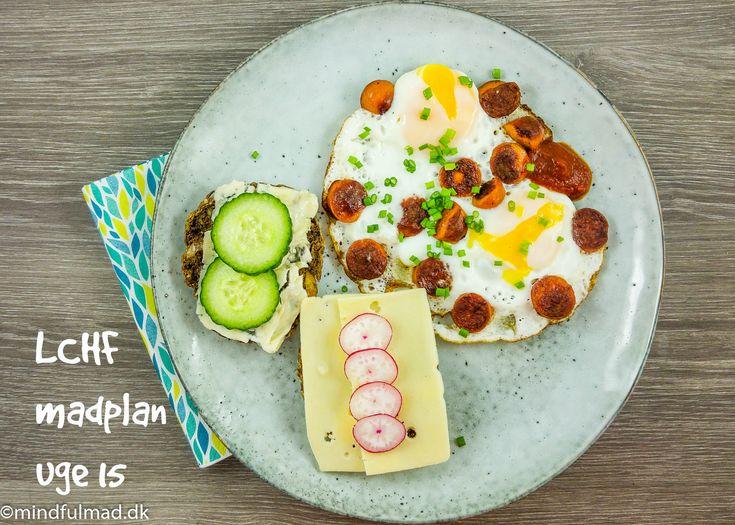 LCHF madplan til 2 personer, links til relevante opskrifter. Følg madplanen eller brug den som inspiration. Den første tid på LCHF er nemmere med en plan.