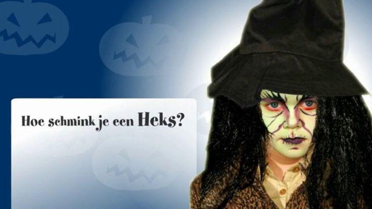 Hoe schmink je een heks?