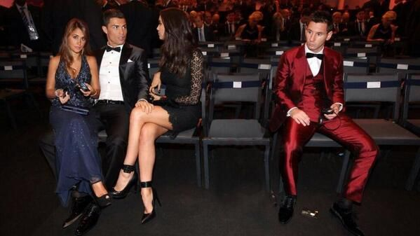 The best pictures and memes from the 2014 Ballon d'Or (ft. Messi, Ronaldo, Pele & lots of attractive women) | 101greatgoals.com