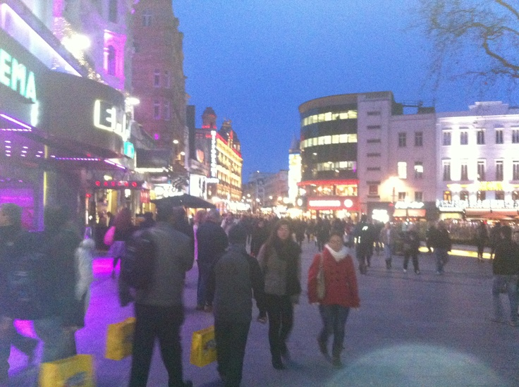 Leicester Square, London 2013