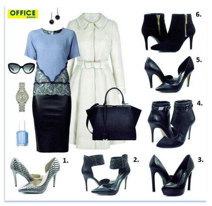 Dámy, hľadáte krásne topánočky k vášmu slušivému outfitu do práce? Office Shoes Vám pomôže! :-) Vyberte si niektorý model na vysokom podpätku z našich luxusných značiek za skvelé ceny počas výpredaja! :-)