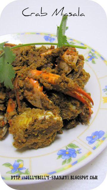 Kitchen Secrets and Snippets: Nandu Masala / Crab Masala