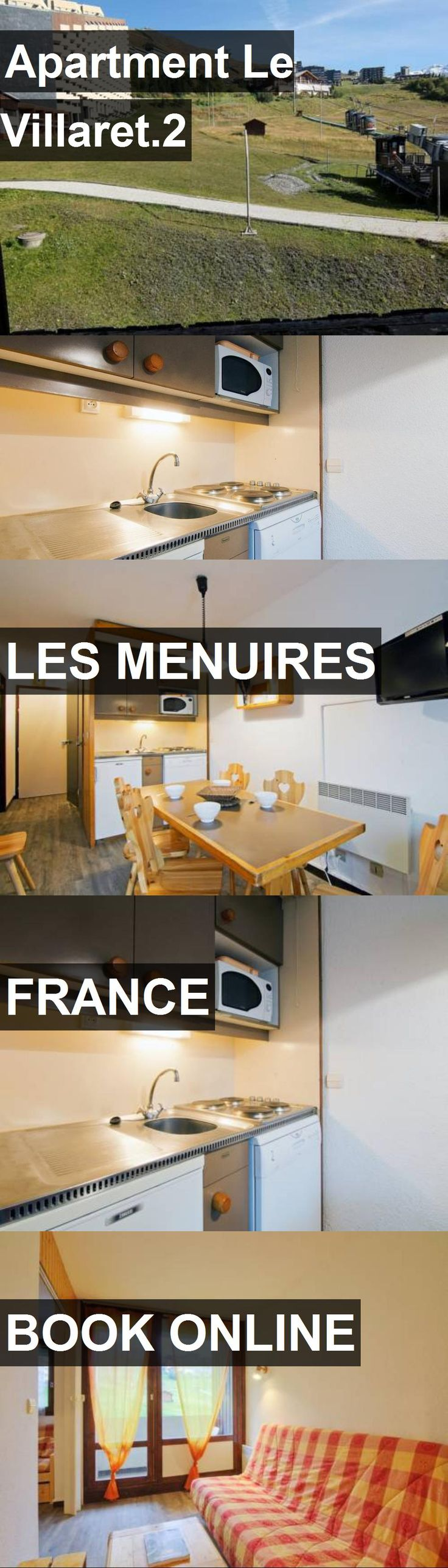Apartment Le Villaret.2 in Les Menuires, France. For more information, photos, reviews and best prices please follow the link. #France #LesMenuires #travel #vacation #apartment