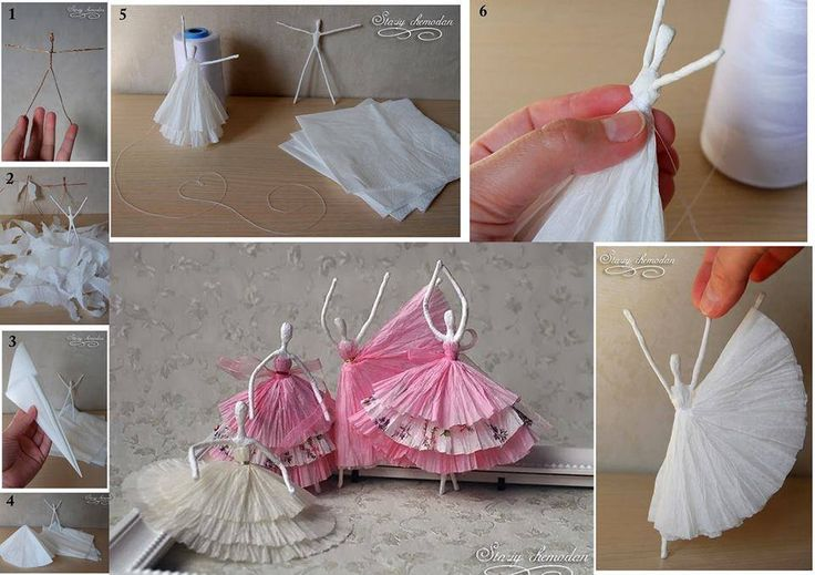 how to make paper pom poms out of coffee filters