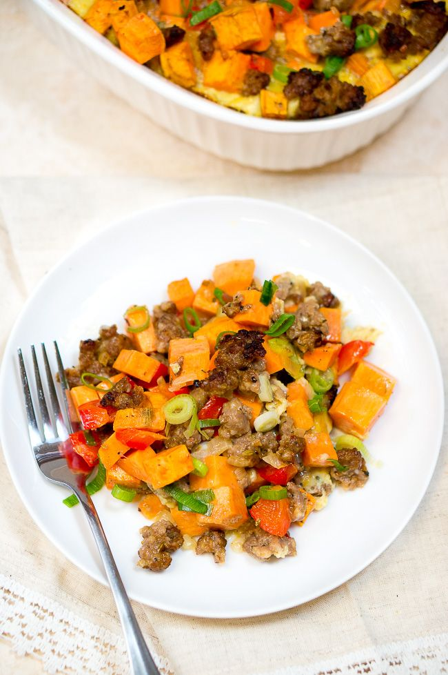 recipe: sweet potato sausage casserole [24]