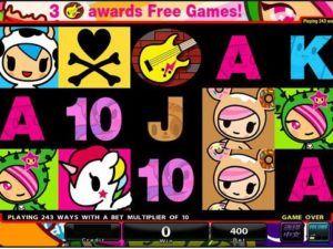 Tokidoki Slot Machine at MoneyGaming Casino