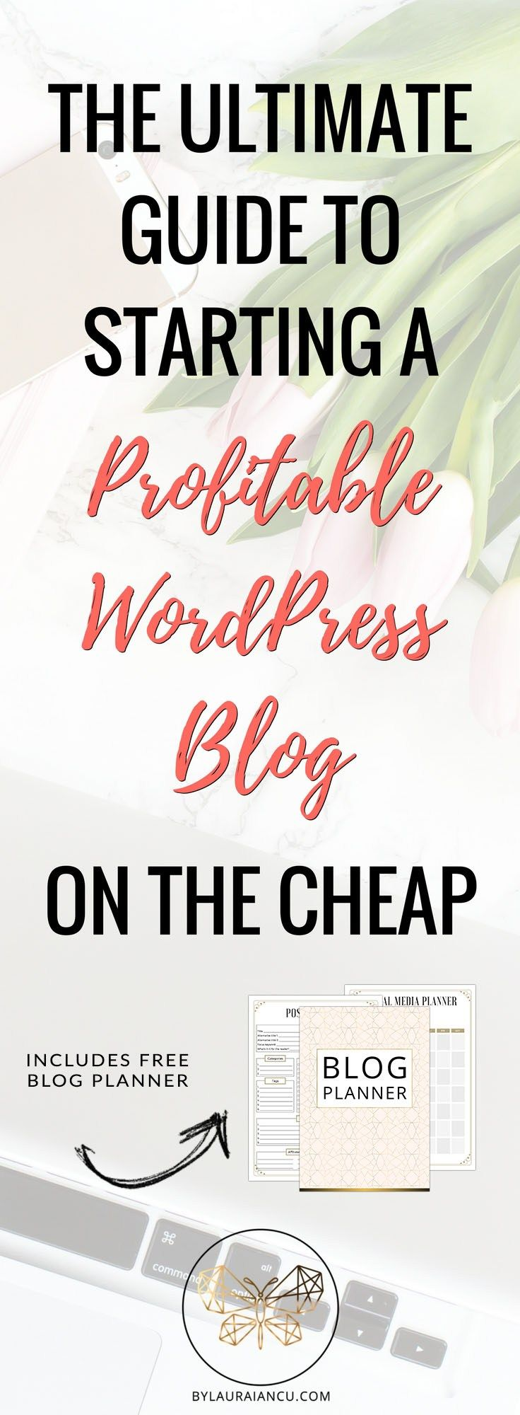 How to launch a self-hosted WordPress blog on a budget. You can start a profitable blog and make money from home. Just follow this step-by-step tutorial on starting a blog with Bluehost. Seriously, this beginner guide to starting a blog is the best!