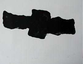 1997, Zt. Kanone, Lithograph ca 55 x 70 cm