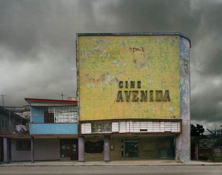 Cinema theater in Cuba