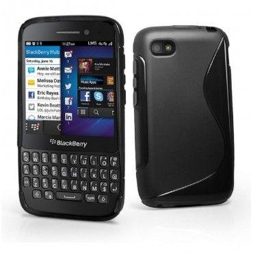 #Grip S Line Wave Gel Case Soft  #Phone #Cover for #Blackberry Q5 - #Black On #Esourceparts CA$4.99 Check for more Details: http://bit.ly/1NT3AV1