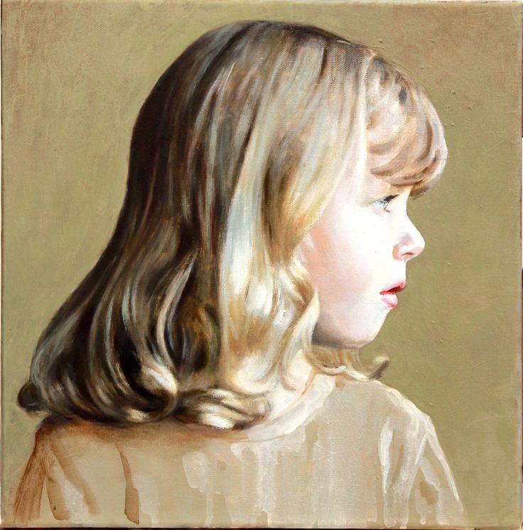 Emily 30cm x 30cm Oil on canvas