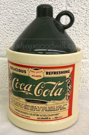 shopgoodwill.com: 020- 1993 Coca-Cola Cookie Jar
