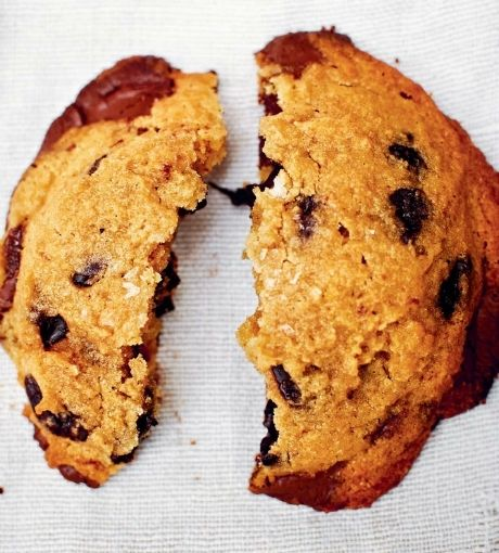 Kamut, Vanilla, and Chocolate Chip Cookies + 12 other ways to cook with ancient grains | Kamut flour has a low-gluten content and a denser texture than all-purpose flour, which gives these chocolate chip cookies their crispy-edged goodness.