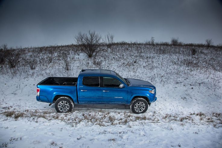 First Look: 2016 Toyota Tacoma Double-Cab 4x4