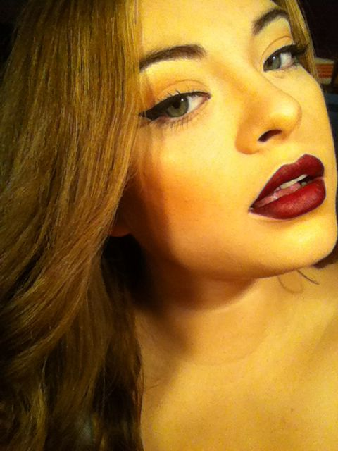 Dark Fall Lips Jordana Cabernet Lip Liner And Wetnwild