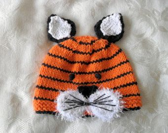 Cappello bambino maglieria a mano a maglia a di CottonPickings