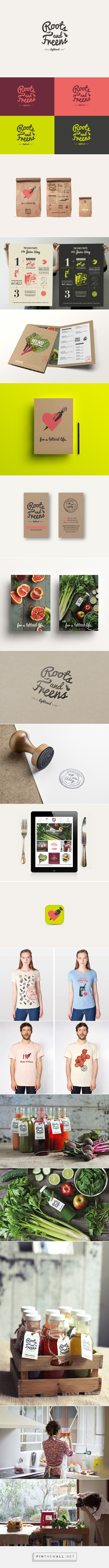 Roots & Freens. on Branding Served - created via http://pinthemall.net