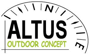 Altus logo - Altus is a french company located in the Alps #highropesCourses #treetop #adventure