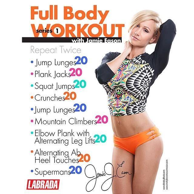Jamie Eason's Full Body Workout