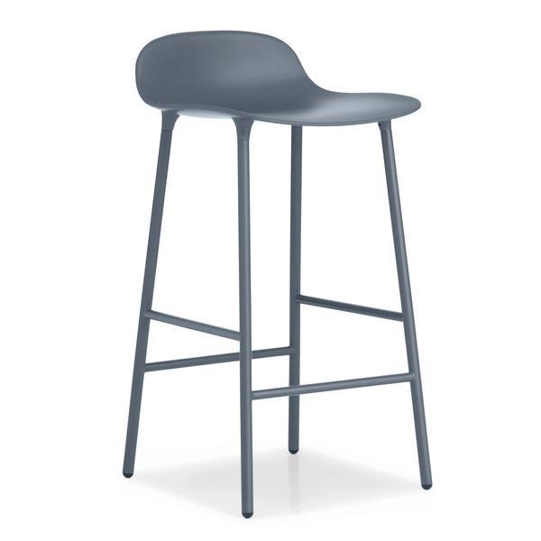 Form Barstool - Steel Legs