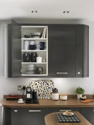 Glendevon Graphite Kitchen Range | Kitchen Families | Howdens Joinery