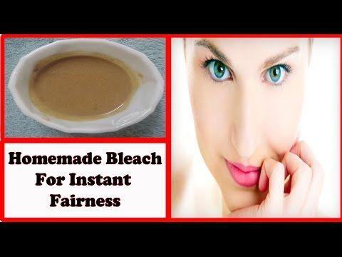 Homemade Bleach For Instant Fairness