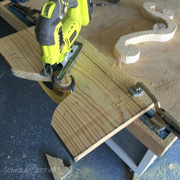 DIY Wooden Chandelier by Sawdust 2 Stitches