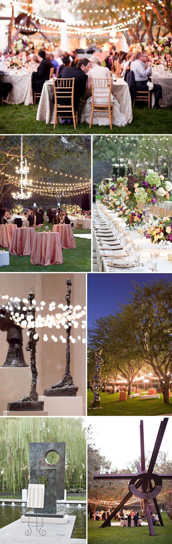 outdoor wedding venues dfw texas%0A Dallas Wedding At Nasher Sculpture Garden   Strictly Weddings