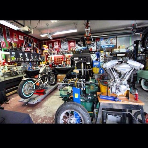 Man Cave Expo Melbourne Tickets : Cool motorcycle garages imgkid the image kid