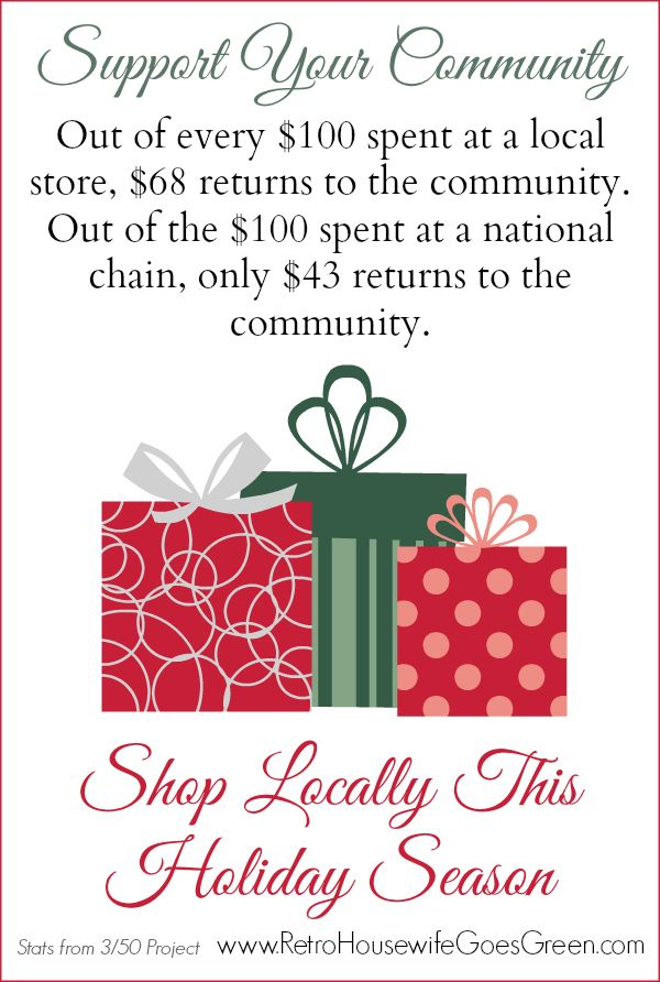 8 Reasons to Shop Locally This Holiday Season