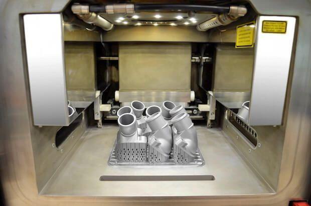 3dprinting: 메르세데스 - 벤츠, 최초의 금속 3D 프린트 트럭 부품 공개