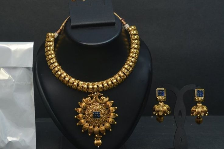 Indian Bollywood Fashion Bridal Peacock Design Necklace Earrings Jewelry Set #vardhamangoodwill