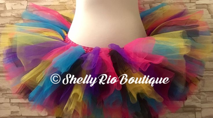 80's Tutu, Material Girl Themed Tutu, Rave Tutu, Adult/Teen Tutu, Candy Tutu by ShellyRioBoutique on Etsy