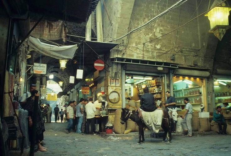 Aleppo - Suq, vor dem Krieg